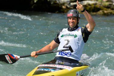 Slovinsko SR Tacen vodný slalom ME C1 finále