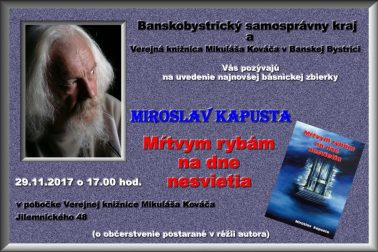 plagat Miroslav Kapusta