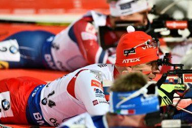 Švédsko SR Biatlon SP 1.kolo mix