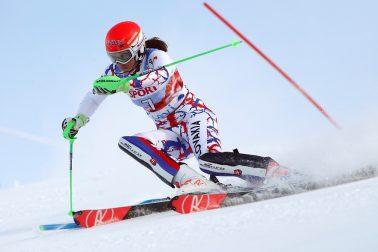 Fínsko Lyžovanie SP slalom ženy Vlhová 1.kolo