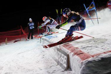 Francúzsko Courchevel SP paralelný slalom finále SR