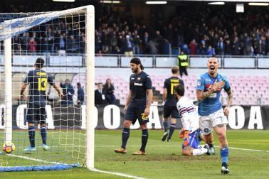 Taliansko Futbal 18. kolo SSC Neapol Sampdoria