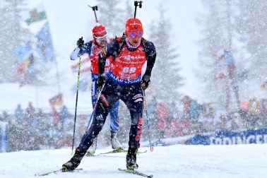 Rakúsko SR Biatlon SP 2.kolo šprint Kuzminová