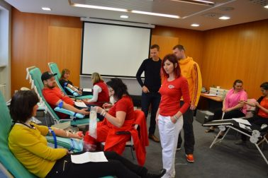 Daruj kvapku krvi 2017_ambasádori EMŠ