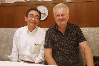 Rudolf Hromada a Akio Egawa