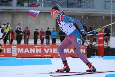 SR Osrblie Biatlon IBU Cup Muži Šprint BBX