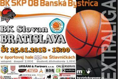 plagat basketbal bb-slovan