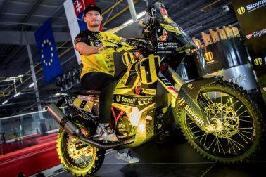 SR motorizmus Svitko Rely Dakar 2018 TK BAX