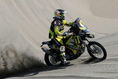 Peru Motorizmus SR Rely Dakar 5. etapa