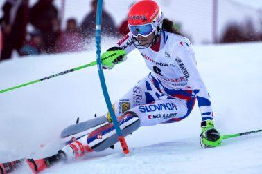 Švajčiarsko slalom ženy SP 1. kolo