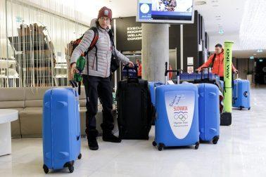 SR Kórea ZOH2018 Pjongčang odchod výprava BAX