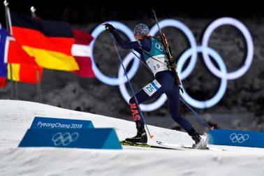 Kórea Pjongčang ZOH2018 SR biatlon 7,5 km šprint ženy