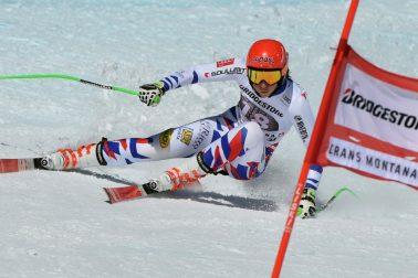 Švajčiarsko lyžovanie SP kombinácia ženy 1. časť