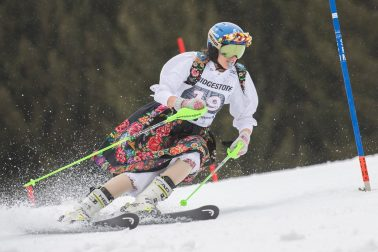 Nemecko SR Ofterschwang lyžovanie slalom ženy SP 1. kolo