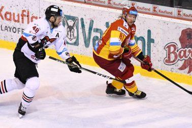 SR Trenčín hokej EL finále 1. play off B. Bystrica TNX
