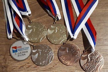6 medailí pre UMB