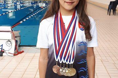Ema Malíková - 6 medailí SPŽ 2018 2.kolo