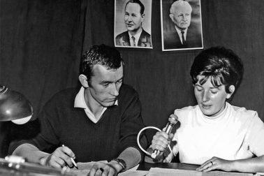 Fedor-Mikovič-a-Lýdia-faksová-august-1968