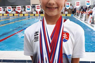 3. kolo SPŽ 2018 - Ema Malíková UMB 6 medailí
