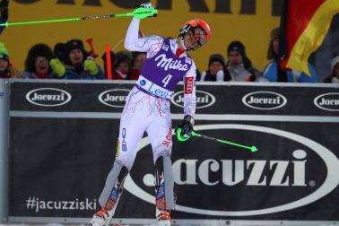 Fínsko SR lyžovanie slalom ženy SP Levi