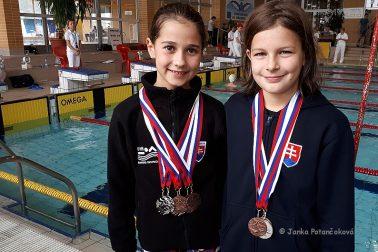 4. klo SPŽ 2018 - vľavo Ema Malíková