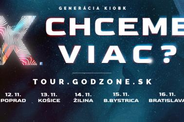 Godzone tour 2018 mestá