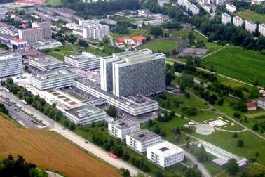 areal nemocnice