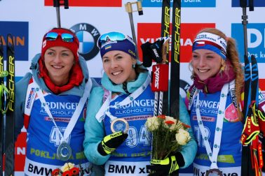 Slovinsko Pokljuka Biatlon SP ženyi vytrvalostný