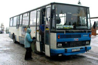 Skibus na Šachtičky vykonáva záložné vozidlo (© BB-Schuhu, web: imhd.sk)