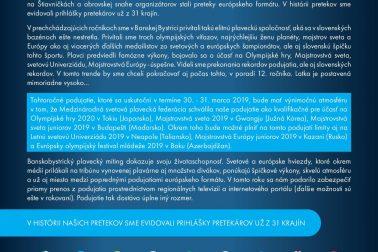 BB Cup 2019 - Slovo k podujatiu
