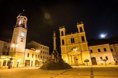 Noc kostolov kostol, Banska Bystrica 2017