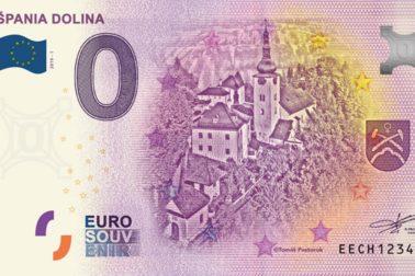 eurobankovka spania dolina