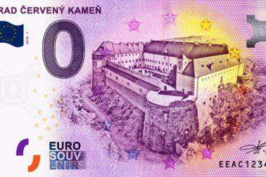 hrad_cerveny_kamen_0_euro_souvenir_bankovka_