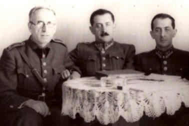 Ludvík-Nábělek a bratia Veselovci počas SNP