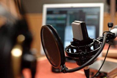 Rozhlasový mikrofon