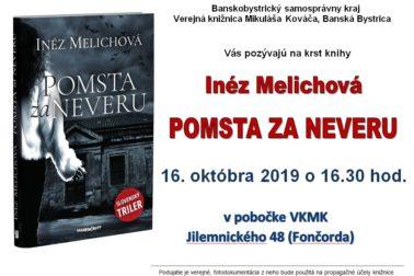 Inéz Melichová - pozvánka