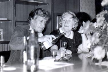 Darina Nábělková s manželom Ludvíkom