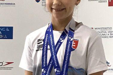 Ema Malíková - 2 krát bronz