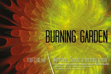 plagat_BUNRNING-GARDEN