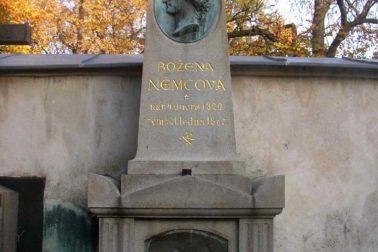 Hrob Boženy Němcovej na pražskom Vyšehrade
