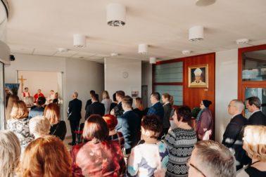Súčasťou oslavy bola aj svätá omša v kaplnke mammacentra (1)