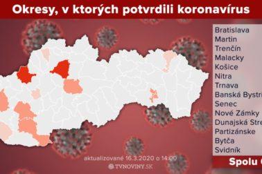 mapa koronavirus