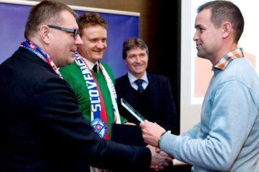 SR futbal Klub ligových kanonierov ocenenia ZAX