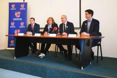 predsedovia poslaneckých klubov a župan