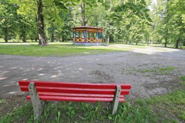 mestsky park sucasnost