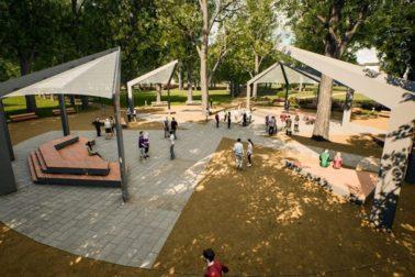 mestsky park vizual