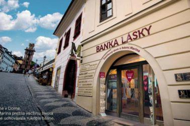 Miesto predaja bankoviek a mincí_Banka Lásky