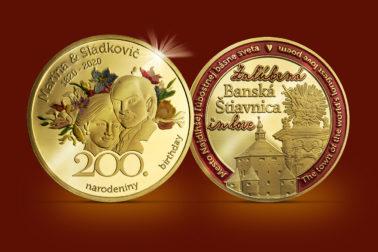 Pozlátené mince_Zaľúbená Štiavnica