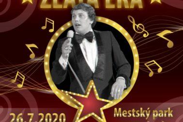 Promenádny koncert Zlata éra 26.7.2020
