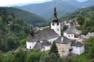 kostol spania dolina